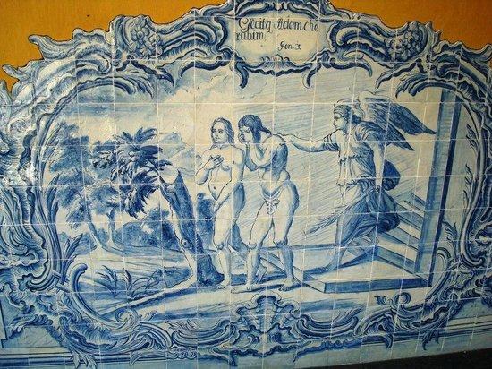 Capela Dourada: Azulejos portugueses