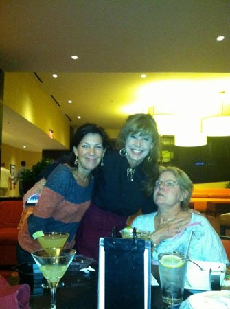 Pleasanton Marriott : With L'Oreal and Corey  at Happy Hour..