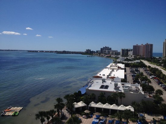 Clearwater Beach Marriott Suites on Sand Key : View from our balcony
