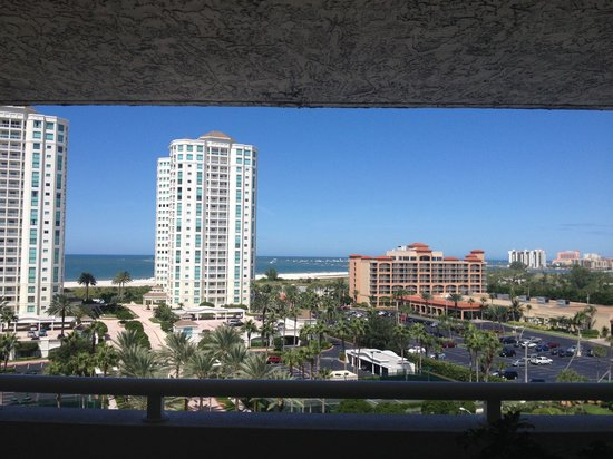 Clearwater Beach Marriott Suites on Sand Key : View from the front of our room!