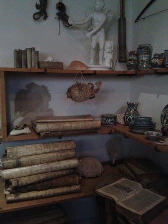Musée de la maison de Rembrandt : Sala de objetos curiosos