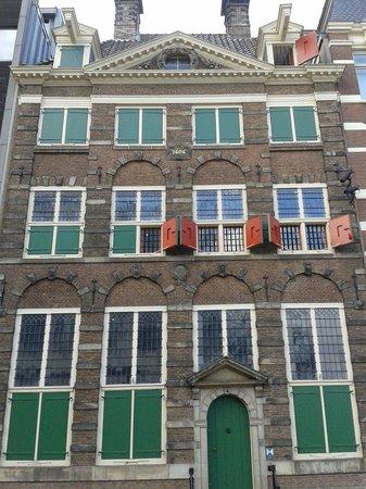 Musée de la maison de Rembrandt : Magnífica fachada de la casa