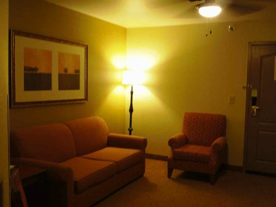 Country Inn & Suites By Carlson, Chattanooga at Hamilton Place Mall: LIVING ROOM