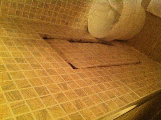 Hipotel Paris Nation: Passaggio segreto dentro il bagno