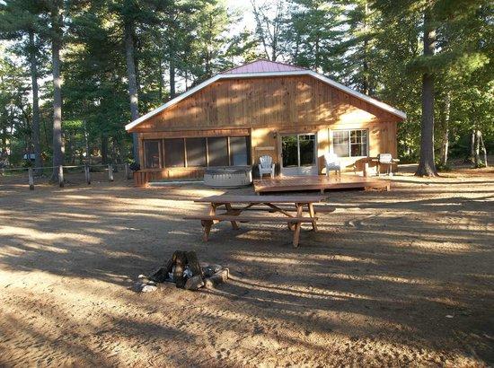 Rabaska Lodge : chalet