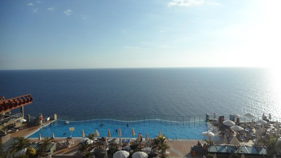 Gloria Palace Amadores Thalasso & Hotel : View from our room Block 2 room 2408