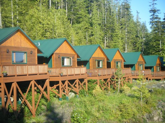 Bear Cove Cottages: Outside surrounding beauty!