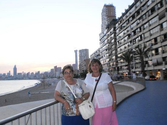 Carlos I Hotel: Playa de poniente