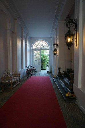 Hotel Patritius: Entrance to hotel