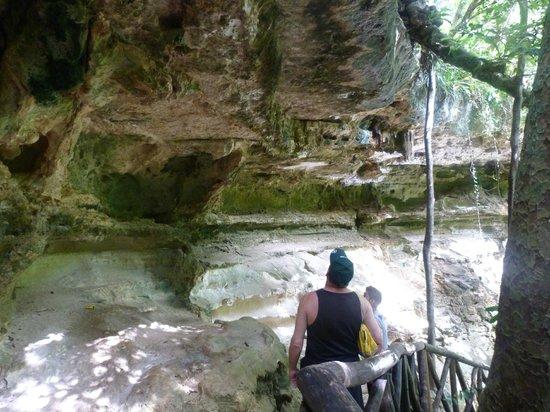 Cenote Yokdzonot : un lugar de descanso en el que se puede almorzar o quedarte acampando