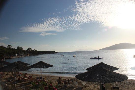 Hapimag Resort Sea Garden: Sunset overlooking the sea