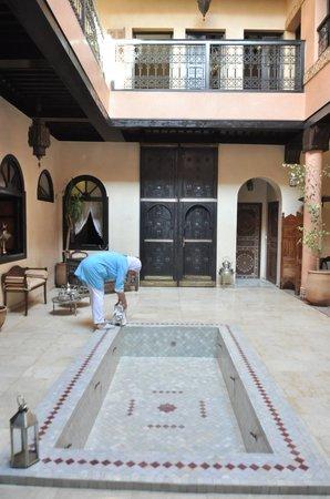 Riad Yacout: entrée