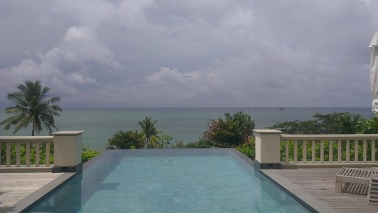 Trisara Phuket : Private infinity pool