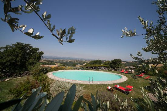 Trenta Querce: la piscina