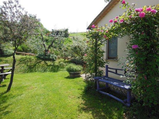 Trenta Querce: Il giardino