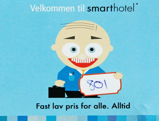 Smarthotel Oslo : Velkommen