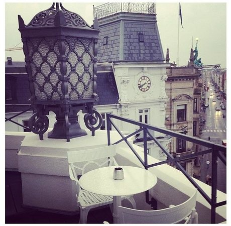 Hotel D'Angleterre: From the balcony of suite 401