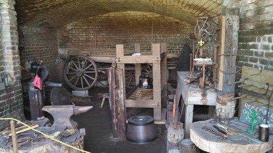 Fort Gaines: Blacksmith Shop