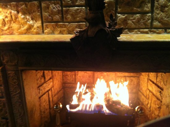 The Dunloe : Fireplace
