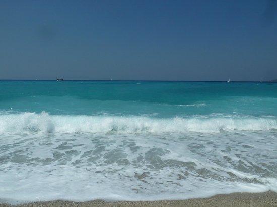 Perdikia Beach Hotel: Море просто чудо