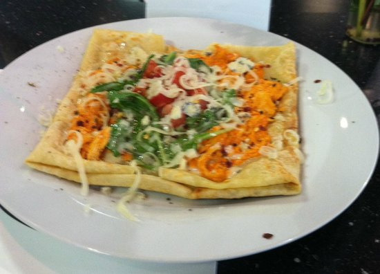 Yo'R So Sweet: Buffalo Chicken Crepe