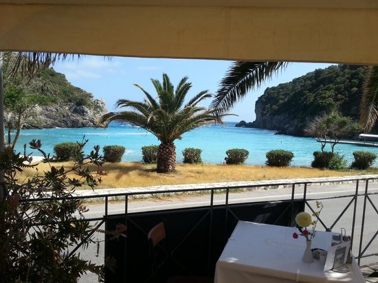 Apollon Hotel: view from breakfast