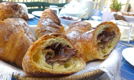 Novecento Bed & Breakfast: Every day starts with croissants
