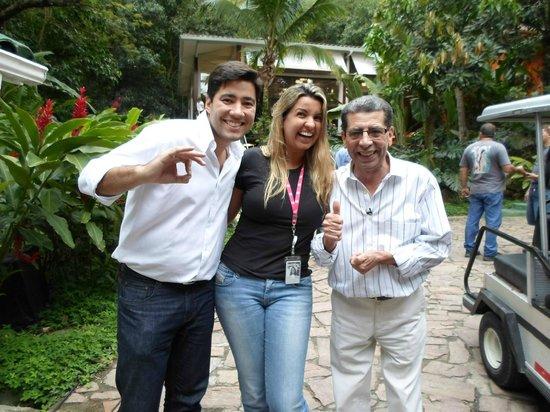 Restaurante Grill Brasil: Nossa participação no programa MAIS VOCÊ da TV Globo com Ana Maria Braga.