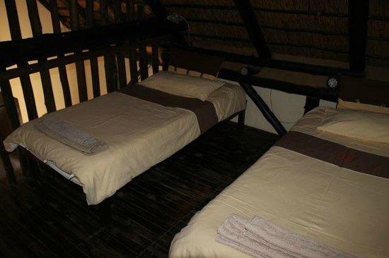 Immanuel Wilderness Lodge : zusätzliche Betten im Familienzimmer
