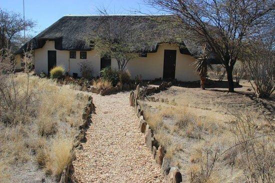 Immanuel Wilderness Lodge : zu den Zimmern