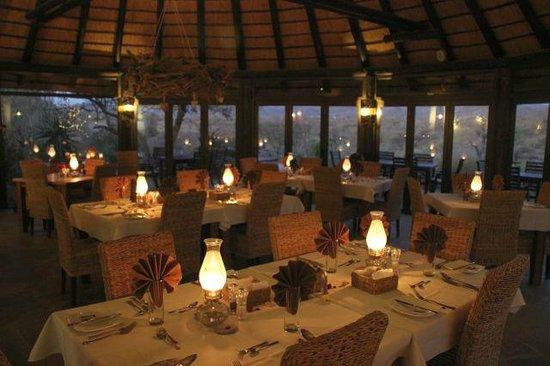 Immanuel Wilderness Lodge : im Restaurant