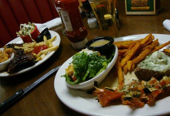 TGI Friday's: Food