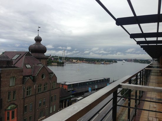 Scandic Sjofartshotellet : Room 710 balcony view