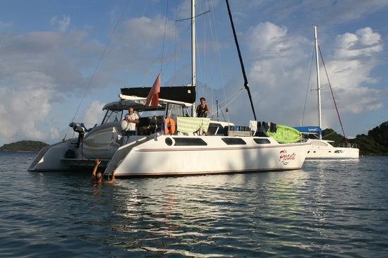 Salt Whistle Bay Mayreau Island Picture Of Sailing