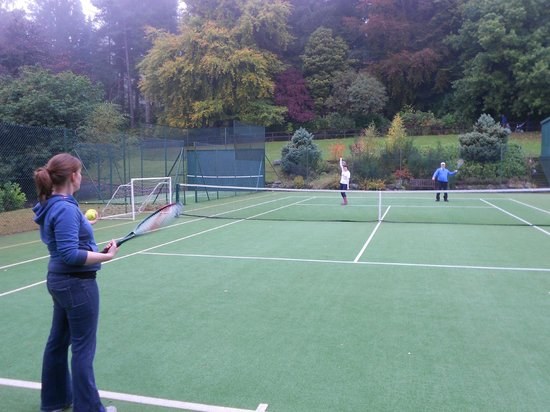 Crieff Hydro Hotel and Resort: anyone for tennis