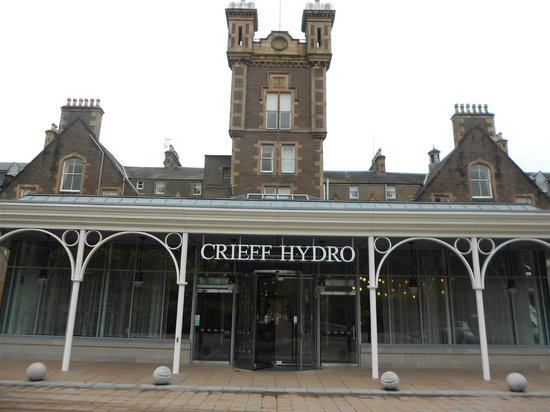 Crieff Hydro Hotel and Resort: outside entrance