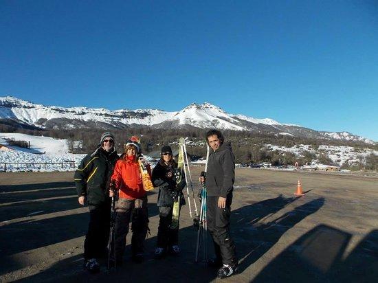 Monte Verde: sky en Chapelco con el francés
