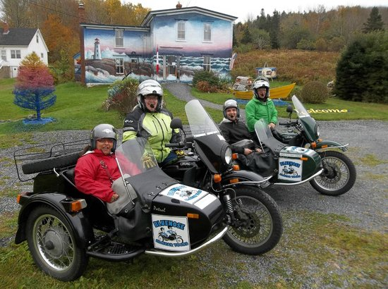 Bluenose Sidecar Tours: The Best Way to SightSee