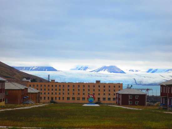 Spitsbergen, Norway: Glacier