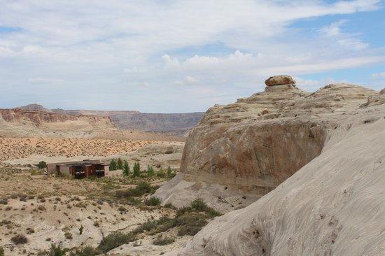 Amangiri: Hiking view