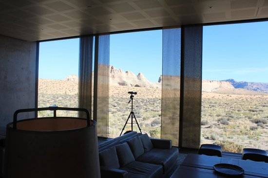 Amangiri: View from the Living Room