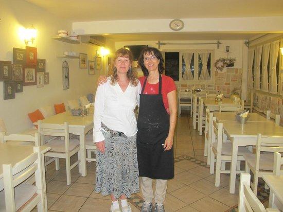 """Restaurant Anna : Anna y Patricia en el """"Restaurante Anna"""""""