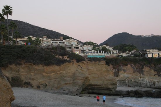 Montage Laguna Beach: View of the hotel from the beach