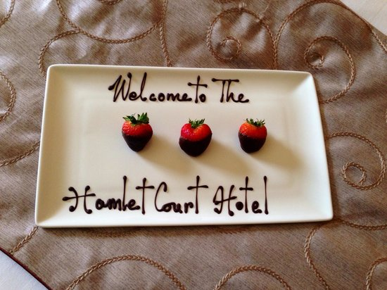 Hamlet Court Hotel: Lovely touch