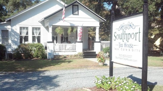 The Southport Tea House is a true Southport cottage experience!
