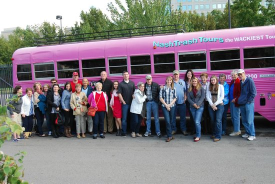 NashTrash Tours: Our Group!