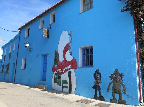 Juzcar, Spanje: Hotel Bandolero
