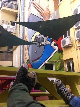 Purple Nest Hostel : Terrazza 1