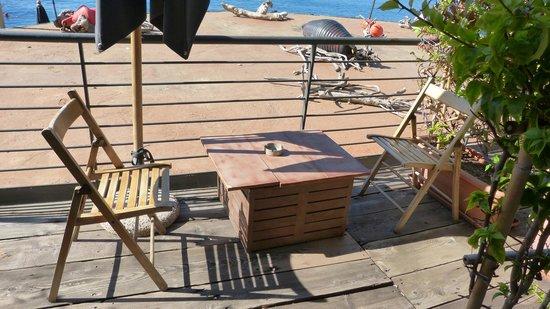 Eco del Mare: Das Balkon Mobiliar