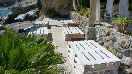 Eco del Mare: Die Loungesessel mit Tisch